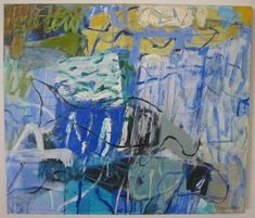 """Elisabeth Cummings """"Dugong Days"""" Oil on canvas 2005 60 x Australian Painters, Australian Artists, Contemporary Landscape, Abstract Landscape, Abstract Art Images, Collages, Illustrations, Abstract Expressionism, Female Art"""