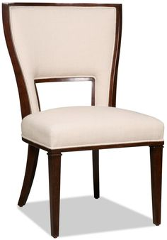 Shop for Hooker Furniture Lindy Natural Dining Side Chair, and other Dining Room Chairs at Shofers in Baltimore, MD. Bring pizzazz to your dining room with the Lindy Natural Dining Chairs. Contemporary Dining Chairs, Solid Wood Dining Chairs, Dining Arm Chair, Dining Room Chairs, Side Chairs, Dining Tables, Hickory Furniture, Hooker Furniture, Large Furniture