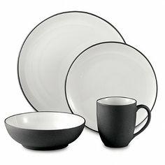 Noritake® Colorwave Graphite Dinnerware - BedBathandBeyond.com