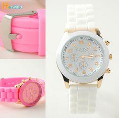 2012 NEW Design Women Men Silicone Watch Jelly Quartz Watch Clock Hours Candy geneva Wristwatch Factory Sale $3.99
