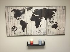 Top custom map wand kunst mbel sind sie auf der suche nach custom rustic world map wall art carved home decor 3 panel map ruth 116 where you go i will go custom quote sign anniversary gift idea gumiabroncs Choice Image