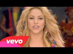 "In the spirit of the FIFA World Cup. Another one of the best World Cup Anthems! Shakira, ""Waka Waka"" (2010) 