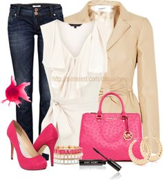 """""""Pink Fish & Valentino"""" by casuality on Polyvore"""