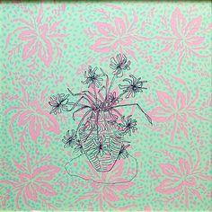 Bob Negrijn - Narcissen - zeefdruk