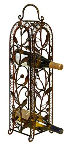special offers benzara metal wine rack 5bottle in stock u0026 free