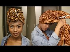 GRWM Drugstore Makeup + Headwrap Tutorial - CHIZIDURU - YouTube