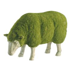 Charming lamb topiary covered in grass. what an amazing creativity. #gardens #creativty #lambs You may want to visit this site too! http://www.pinterest.com/travelfoxcom/pins/