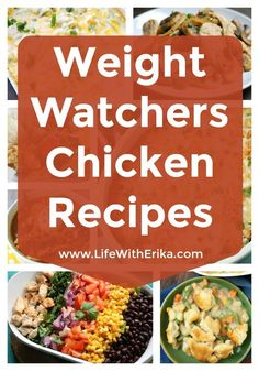 Weight Watchers Recipes with Chicken If you are following Weight Watchers, you might be looking for new recipes that include chicken. Most ...