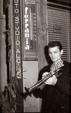 Chet Baker, 1961.