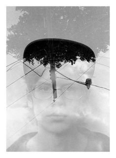 Intentional double exposure portraits evoke the struggle of young adults trying to define their own identity amidst the push and pull of nature, nurture and peer pressure