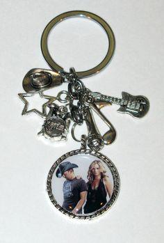 Sugarland KeychainKey Ring With Heavy Pendant by DixonsJewelry, $8.99