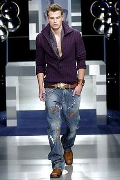 Dolce & Gabbana Fall 2005 Menswear Fashion Show: Complete Collection - Style.com