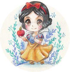 Snow White by Debbie B [©2015-2016 marmaladecookie]