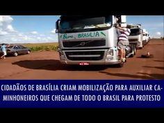 Folha Política: Cidadãos de Brasília criam mobilização para auxiliar caminhoneiros que chegam de todo o Brasil para protesto; veja