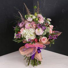 Zilele astea, în atelierul nostru, a fost anotimpul daliilor.   Pe noi ne-au cucerit aceastya floare a dorului și dragului.  Voi cui i-ați oferi-o?   #floriarie #livrareflori Floral Wreath, Wreaths, Home Decor, Atelier, Floral Crown, Decoration Home, Door Wreaths, Room Decor, Deco Mesh Wreaths