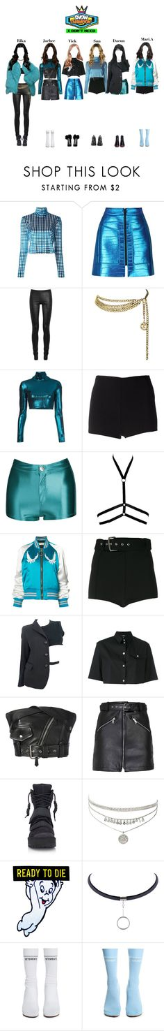 """«Show Champion» StarZ - I Don't Need"" by starz-official on Polyvore featuring House of Holland, Rick Owens, Chanel, Alexander Lewis, Martin Grant, Off-White, Versus, Comme des Garçons, Jean-Paul Gaultier and Hood by Air"