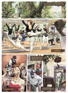 Blacksad Comic | Dark Horse has provided this eight-page preview to show off the ...