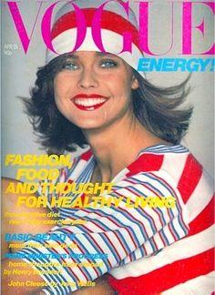 Carol Alt 1980 UK Vogue