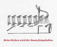 Sticken lernen: Der Hohlsaum - Säumen - BRIGITTE