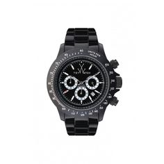 "Promo ""MR Gallery Web Natale 2012"".   Orologio ToyWatch XL CHRONO BLACK AND WHITE ""Codice FL49BKWH"" prezzo 200,00.  XL in plasteramic, oversize, cassa e cinturino nero, quadrante nero con dettagli bianchi, movimento chronografo.   Dimensione: 44 mm oversize  Water resistant: 5 ATM  Movimento: Japanese movement Quartz Chronograph  Chiusura: box  www.mrgallery.eu  Info@mrgallery.eu"