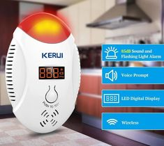 Fire Protection Gentle Fuers Co Sensor 85db Carbon Monoxide Detectors Lcd Photoelectric Independent Poisoning Warning Alarm Co Gas Sensor Detectors For Fast Shipping