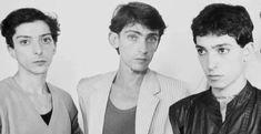 Los hermanos Moura , 1982 . 3, Rock, Drawings, Tips, Siblings, Men, Skirt, Locks, Sketches