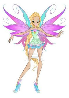 Daphne's Mythix I think she should be the leader of the Winx, not Bloom. But then again, I hate bloom with a passion ;)