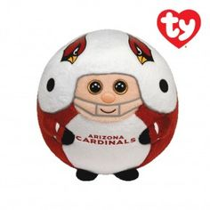 "Arizona Cardinals 101 Holiday Gift Ideas:  Arizona Cardinals 5"" Beanie Ballz $12.00"
