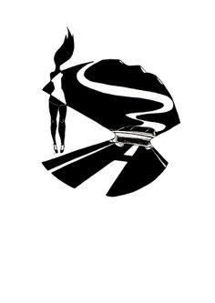 Carretera Secundaria. Superhero, Illustration, Fictional Characters, Art, Pompadour, High Road, Art Background, Illustrations, Kunst