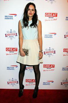 Atlanta de Cadenet Taylor - Celebs at the Big British Invite