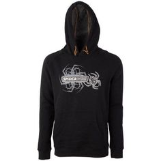 SpiderWire Casual Hoodie, Size: Large, Black