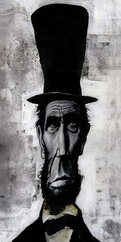 Abe Lincoln by Kevin Eslinger. Great work.
