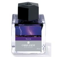 Caran d'Ache Colours of the World Fountain Pen Ink - Storm...so fancy...