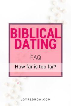 How far is too far? Physical Boundaries FAQs – Biblical Dating Series