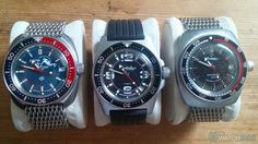 Our Vostok Amphibia Review looks in depth at this great watch, its history, movement, links to space, modding and much more! Vostok Watch, Pinstriping Designs, Cool Watches, Wrist Watches, Male Grooming, Vintage Rolex, Seiko, Chronograph, Sporty