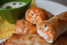 WW Buffalo Chicken  Rolls 3 pts plus  I'm thinking we're very comfortable together at this point, me and you. You and me. At best, we're virtual soul mates bonded through food and cooking. At worst, we're in a one-sided pen pal relationship and you're not keeping up your