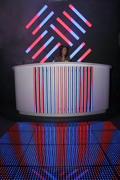 DJ Booth & LED: