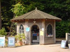 Ticket kiosk for the National Trust at Hatchlands, Guildford National Trust, Kiosk, Surrey, Joinery, Hampshire, Ticket, Gazebo, Commercial, Outdoor Structures