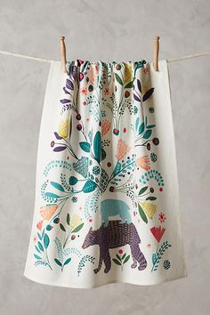 Fabled Land Tea Towel from Anthropologie - €