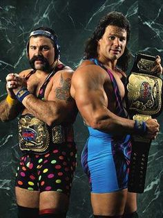 WWF Tag Team Champions The Steiner Brothers (Rick and Scott)