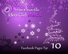 ✶ Facebook Pages Tip: Vary your post types each day & remember to re-call your Facebook Tabs from time to time.  --> Have questions about post types? Put them in comments!  http://www.facebook.com/ideagirlmedia.com  #FacebookPages #FacebookTips #FacebookMarketing