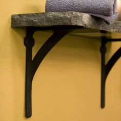 Classic Iron Shelf Bracket- to go with our barn wood in the laundry and master bath behind the toilet