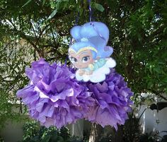 Our Shimmer And Shine Party Divine I loved sharing about our Pirate and Fairy party so much, that I decided to dive right into anot. Shimmer N Shine, This Is Us, Christmas Ornaments, Holiday Decor, Party, Life, Christmas Jewelry, Parties, Christmas Decorations