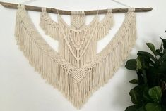 Everything handmade from my home to yours :) by NyxonCreations Laura O, Large Macrame Wall Hanging, Beautiful Wall, Sell On Etsy, Boho Decor, Wall Decor, Wall Art, House Warming, Backdrops