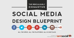 The Ridiculously Exhaustive #Social #Media #Dimensions Blueprint (#Infographic) -- all in one place! Via http://thesearchmarketer.com.