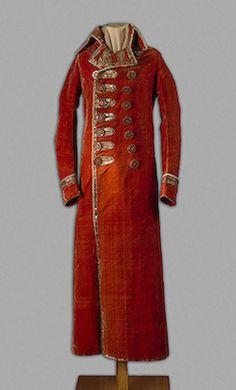 Abito da equitazione  Grand Duke Alexander Pavlovich's Riding Coat, 1790s Russia