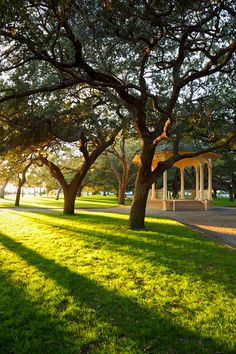 Perfect place to run off and get married: the gazebo in the Battery. Charleston, SC.