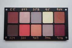 Inglot Freedom System LC Venus Palette Dupes | Blueberry segmentS