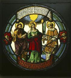 Sts Bartholomew, St Agatha and St Stephen Klein, Josua, 1624 The Victoria and Albert Museum