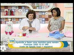 Naninha para bebê VIVI PRADO - Programa Vida Plena (14/07/2014)